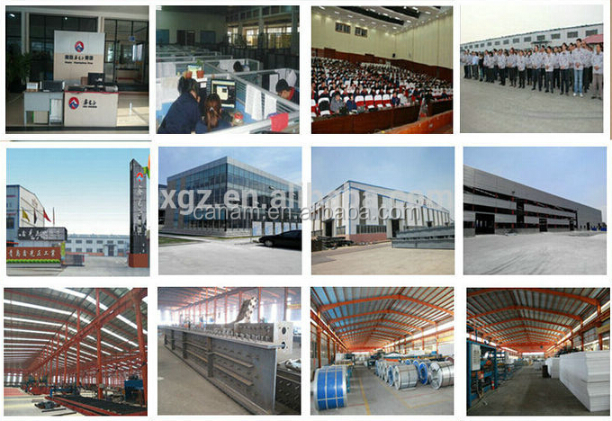 Foldable light steel frame container warehouse