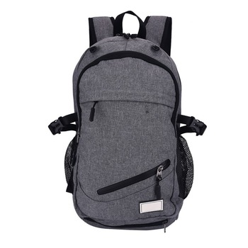 2017 Super Quality Men Usb Charger Outdoor Soccer Backpack With Ball Holder Backpacks