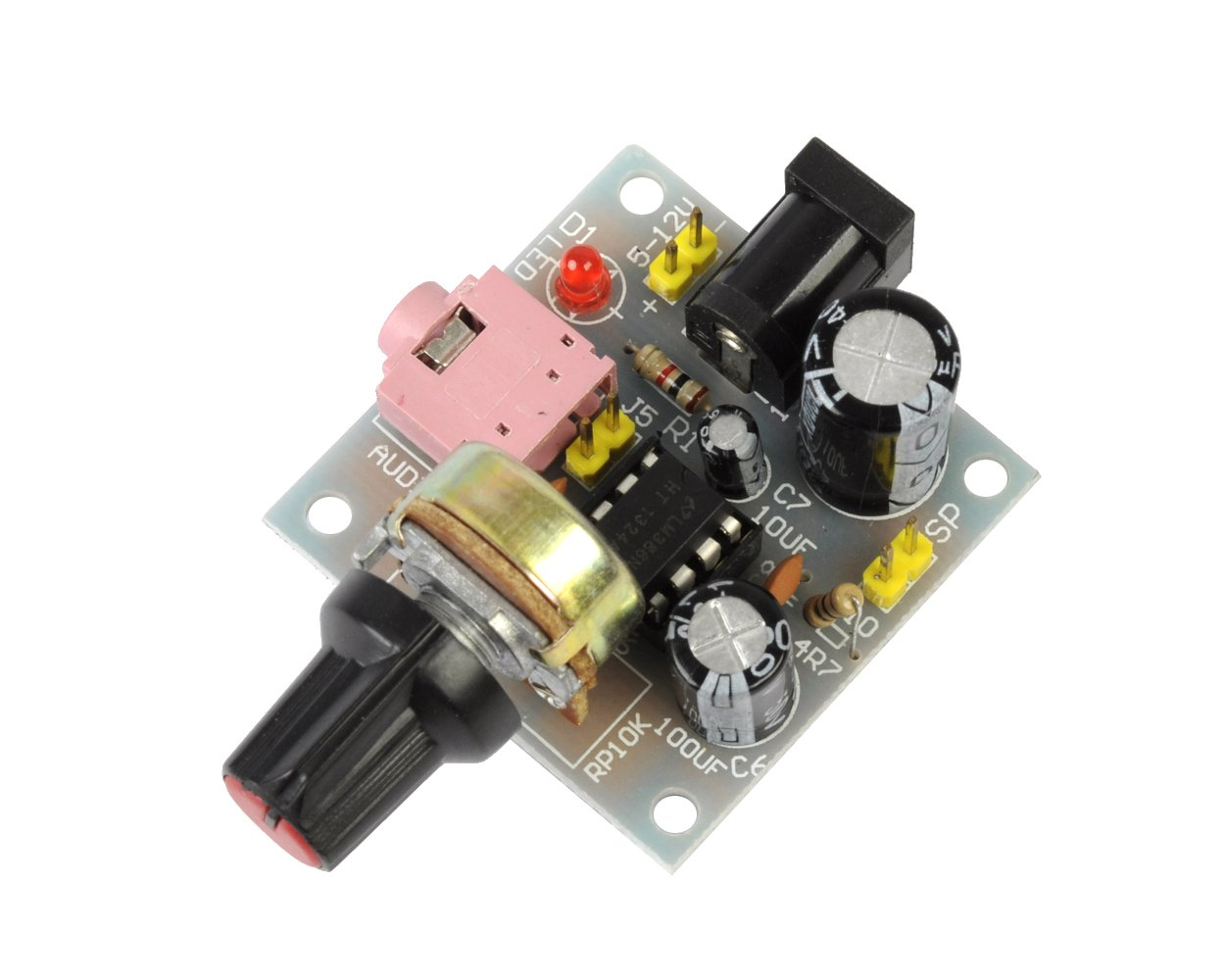 Cheap 12v Dc Audio Amplifier Find Deals On 10w Mini Get Quotations Icstation Lm386 Power Amp Speaker Driver Module 5v To Input