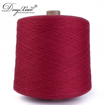 Wholesales 100 % Cashmere Worsted Spun Yarn for Knitting Weaving