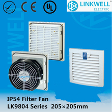 For switchgear board easy-open Flame resistant plastic Filter and fan units