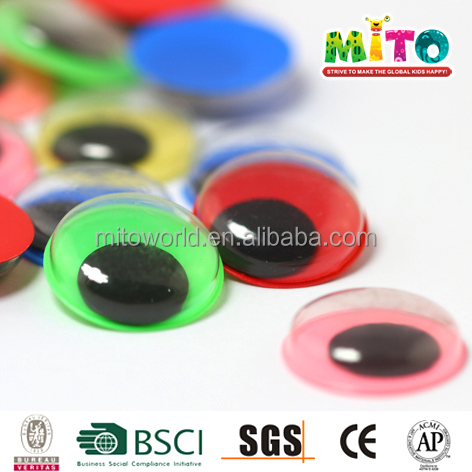 Educational handicraft plastic doll eyes