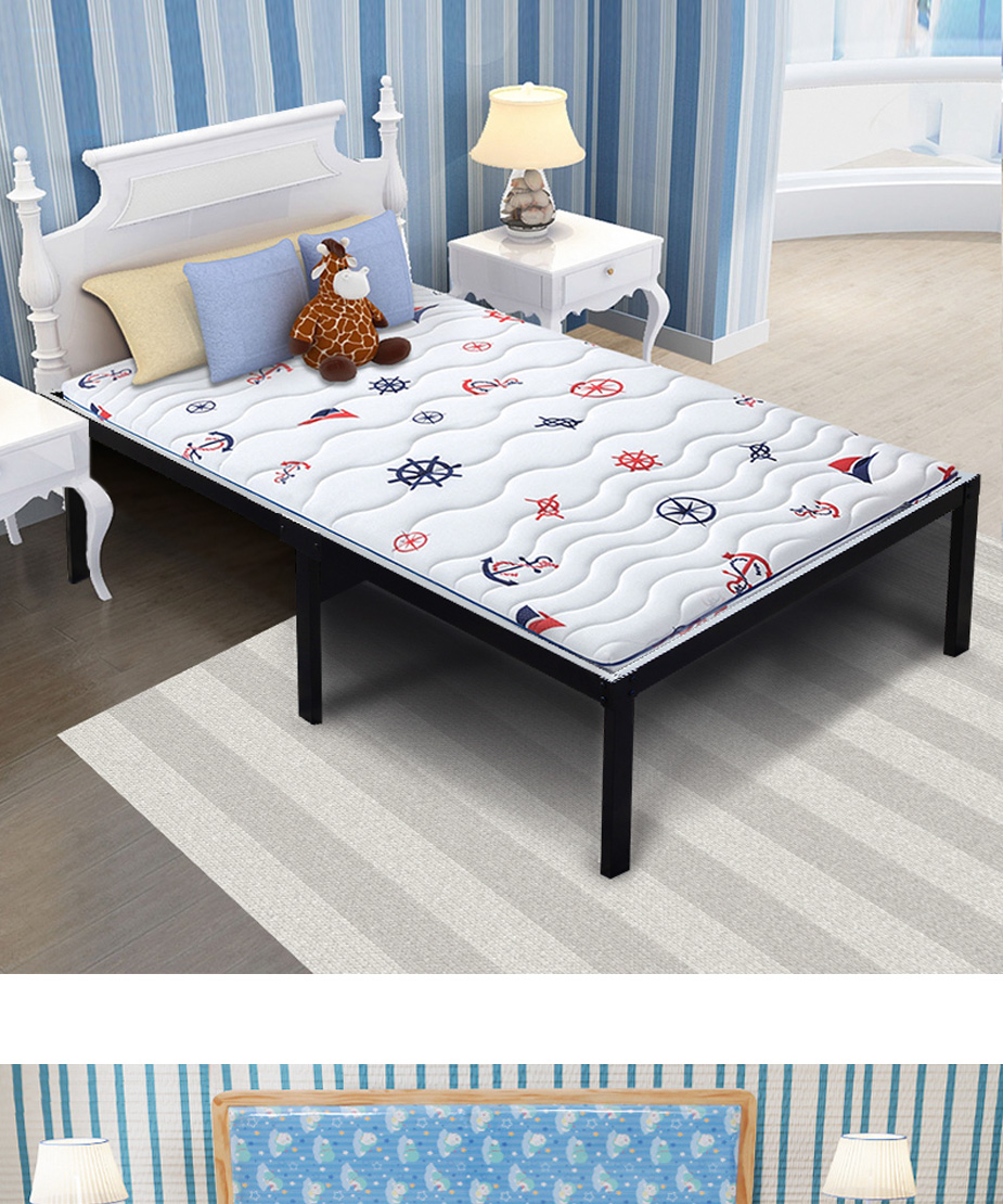 Heavy Duty Platform Bed Easy Assembly Bed Frame Steel Mattress Base with under bed Storage room