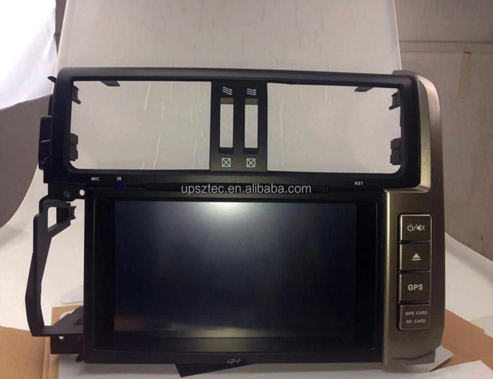"8"" Android 6.0 Full Touch Double Din 32GB Octa Core Car DVD Player For <strong>Toyota</strong> <strong>Prado</strong> GPS Navigation Bluetooth WIFI(2010-2012)"
