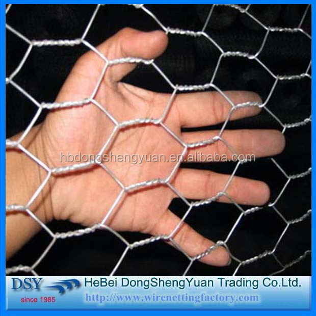 2016 China Hexagonal gabion wire mesh/Hexagonal gabion box By Alibaba