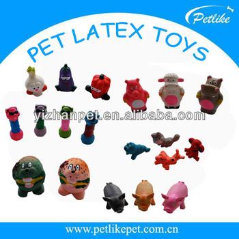 Kartun Hewan Hewan Peliharaan Mainan Untuk Anjing Dengan Squeaker