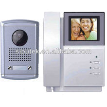 4-wired b/w and color video door phone commax for villas with easy installation