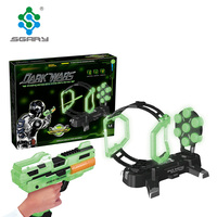 Battery Operated Infrared Gun Educational Shooting Game GLOWING IN THE DARK