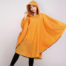 EVA Bicycle Rain Poncho for Adult