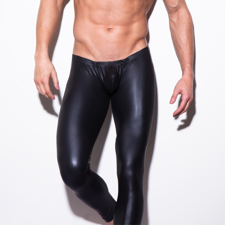 e12e57c7fe19b6 Get Quotations · The explosion of men performing wear tight pants men taste leather  pants leather leather pants wholesale