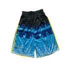 OEM custom heat sublimated beach shorts swimming trunks Design your own weight breathable shorts