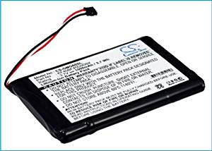 Battery2go - 1 year warranty - 3.7V Battery For Garmin Approach G6, KF40BF45D0D9X
