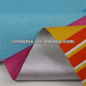 300d drapery waterproof coated 100%polyester printted tent fabric