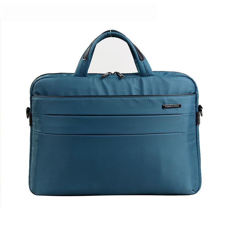 bab48de1f8 Get Quotations · Kinsons Brand Fashion Nylon Waterproof 14 14.1 inch Laptop  Computer Notebook Bag for Men Women Briefcase