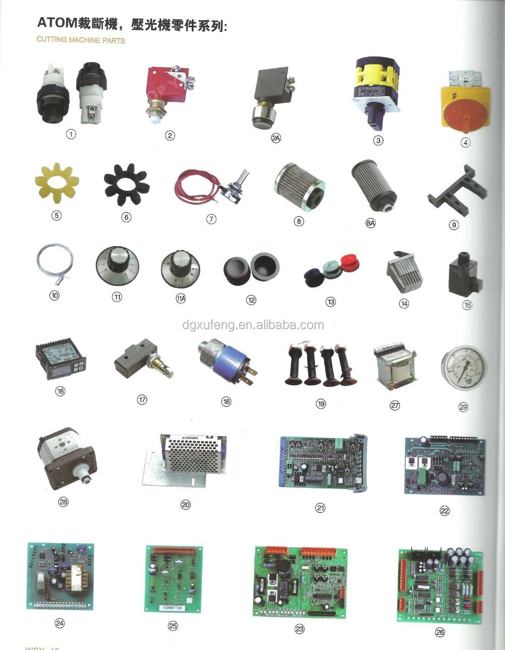 cutting press atom spare parts circuit board buy atom. Black Bedroom Furniture Sets. Home Design Ideas