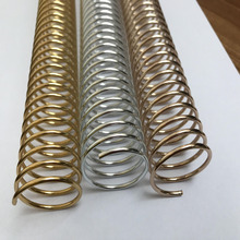 New Arrived Aluminum Rose Gold Spiral Binding Coil