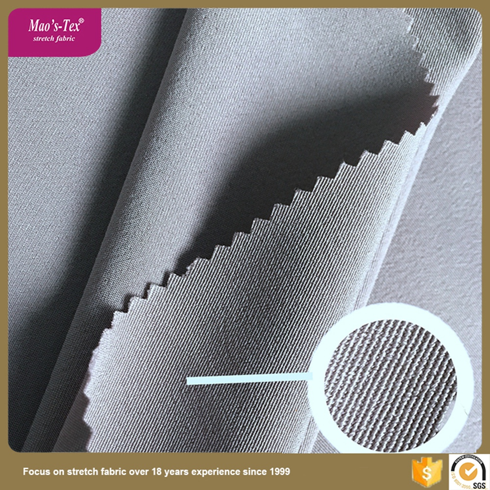 Chinese make to order type 200D twill 100 polyester spandex fabric for garments