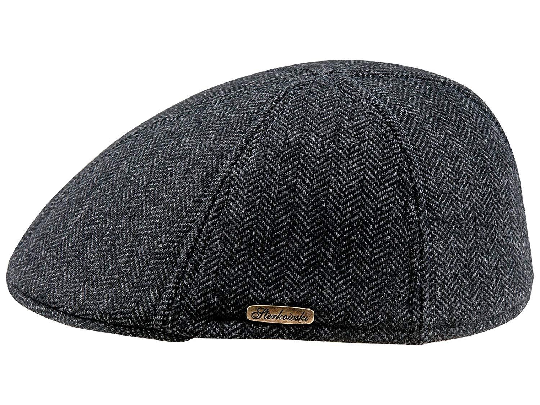 f22d52cf1dc01 Buy Warm Wool Blend Petersham Duckbill 6 Panel Flat Cap in Cheap ...