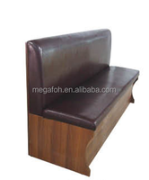 Commercial furniture upholstered modern restaurant single dining booth(FOH-CBCK22)