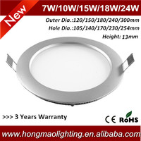 china manufacturer 240*230mm 18w led fixture office lighting