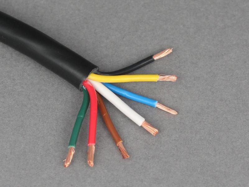 12v/24v auto-italië 5m nominale 14 amp 7 kern aanhanger kabel draad ...