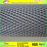 higlh quality diamond Expanded Metal Mesh , raised expanded metal sheet