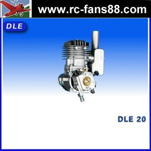 gas engine for RC airplane DLE20 20cc