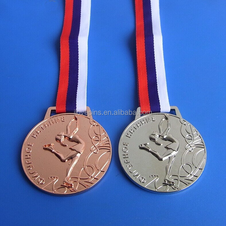 Russia figure skating award medals