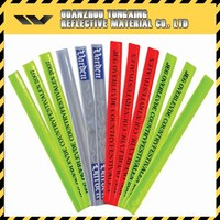 Best Selling Scratch Resistant Products Promotional Reflective Slap Wrist Bands