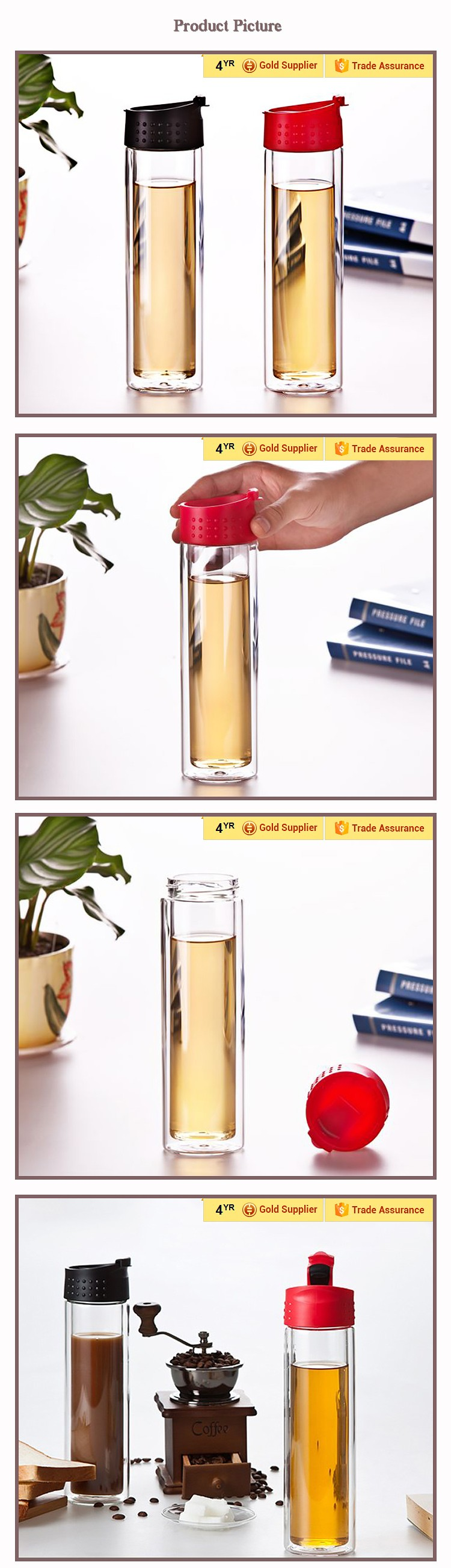 Manufacturer Promotional Gift Drinking Bottle Made In China ...