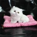 Wow Super Kawaii Simulation Cats Plush Toys Press Sounding Kittens Stuffed Doll Kids Room Decoration Birthday