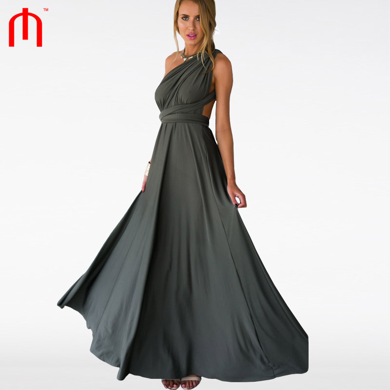 PINOT NOIR DRESS (KHAKI) Women maxi dress robe longue femme vestido de festa evening party vestidos femininos sexy summer dress
