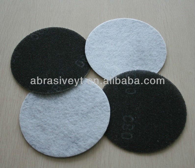 Glass Fiber Hook Grid Abrasive Disc