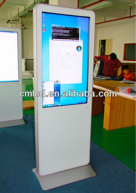 Free Standing Touch Screen PC 42 inch kiosk supplier