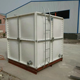 Fiberglass FRP plastic material sintex drinking water tank with hot water treatment