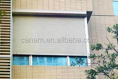 shutter windows European style aluminum roller shutter
