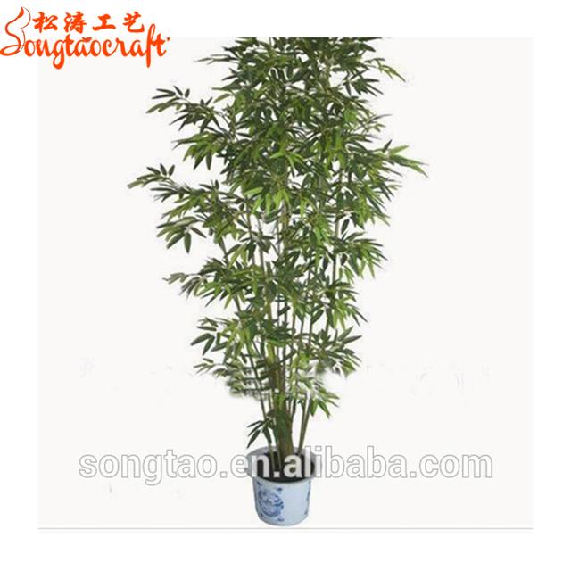 Decorative Natural Looking Artificial Bamboo Poles Bamboo Tree