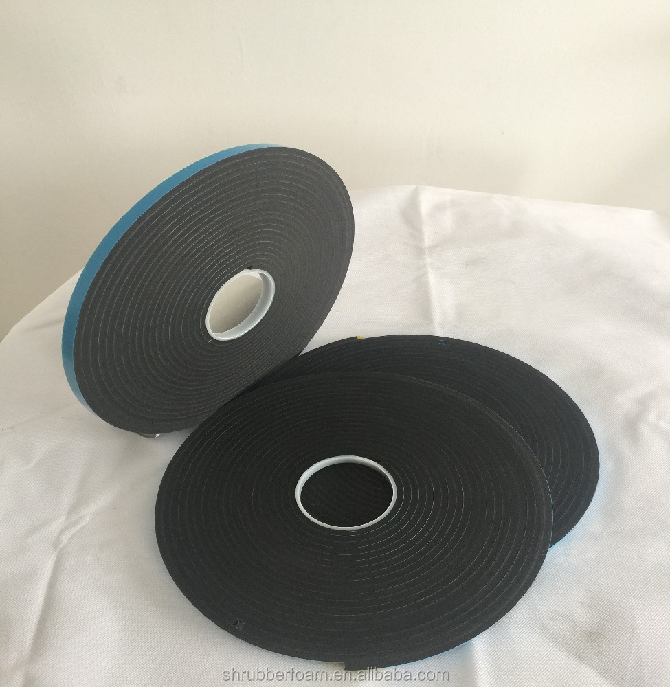 pvc foam spacer tape/v2200 /v2100 glass curtain wall adhesive tape