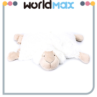New Arrival Soft Cartoon Plush Toy Lying Sheep For Baby