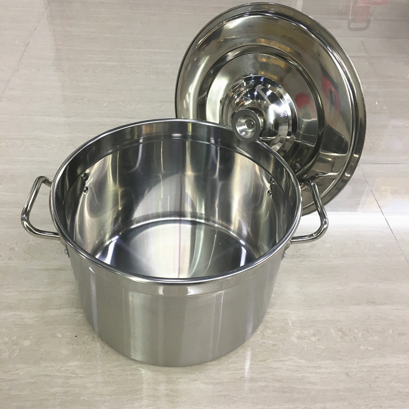 60Liter Kitchen Wares Stainless Steel Food Warmer Large Catering Pot For Restaurant
