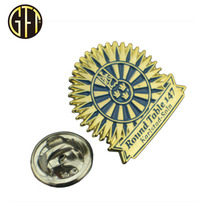 Zinc Alloy Custom Metal Lapel Pin Company Logo Badge
