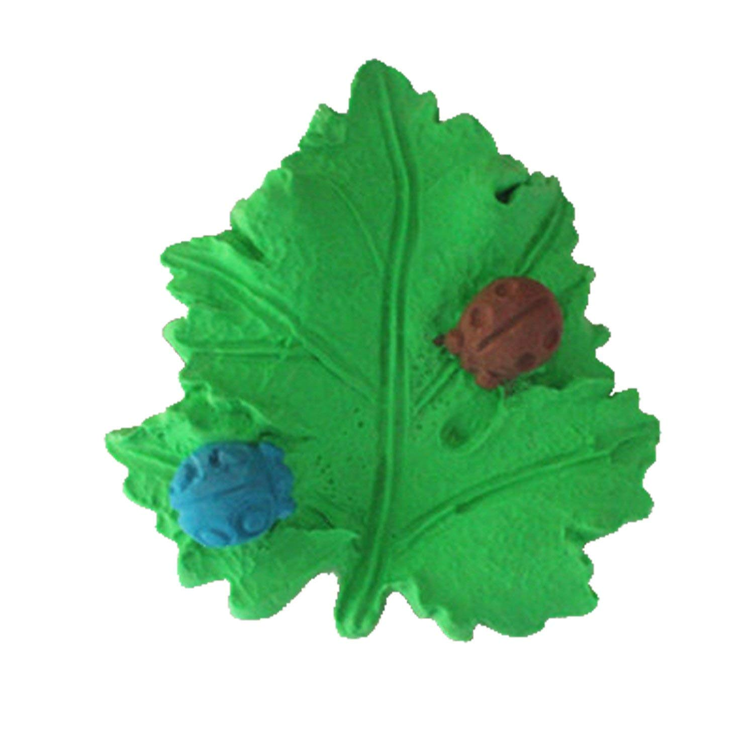 Longzang Ladybug on Leaf Mould Craft Art Silicone Soap Mold Craft Molds DIY Handmade Soap Molds (S382)