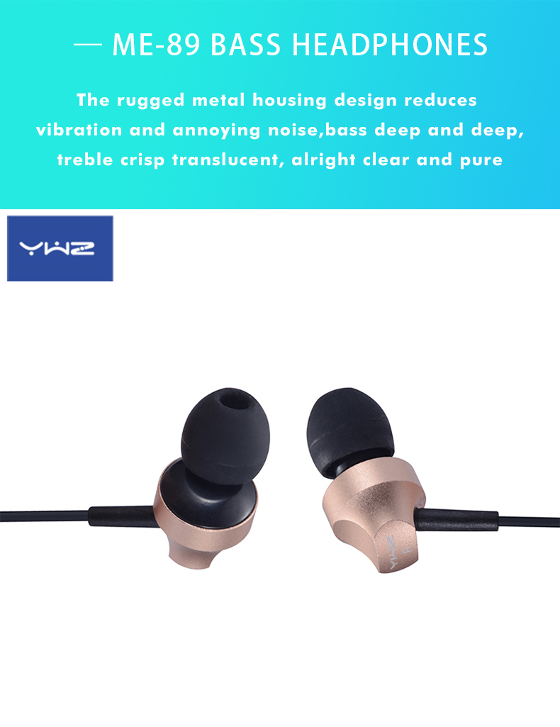 Ywz Airline Fashion Best Bass Sound Wired Headphone With Mic For Girls -  Buy Best Bass Sound Headphone,Wired Headphone With Mic,Fashion Headphone  For