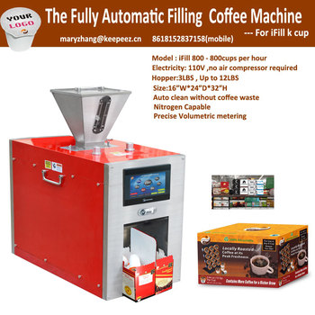 Ifll800 Fully Automatic K Cup Filling And Packing Machine For