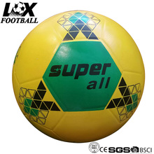 Colorful Official Size Rubber Made Smooth Finish Football No.5
