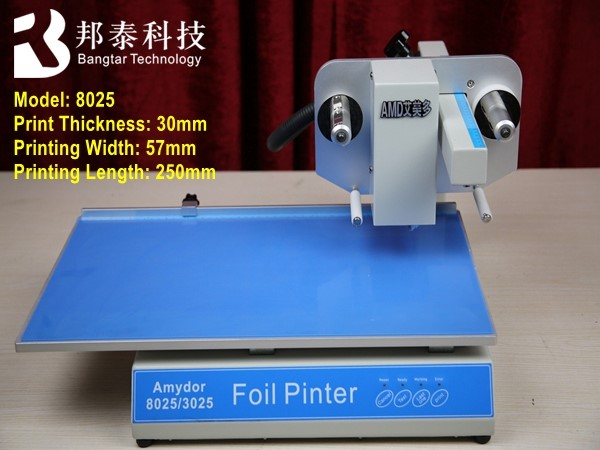 Small Size Mini Automatic Hot Foil Lanyard Badge Printing Machine ...