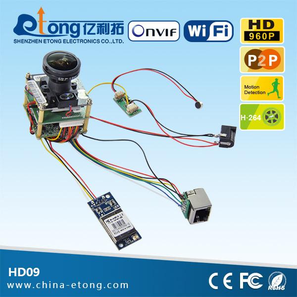 Ir 3 0mp Cmos P2p Ip Wifi Iphone/android Monitor Fisheye Lens H 264 Camera  Module - Buy H 264 Camera Module,Oem Ip H 264 Camera Module,Cheap Sale