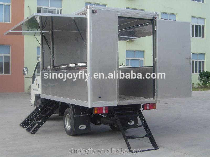 Mini Freezer Truck Freezer Unit Trucks Insulated Cargo Van Body ...