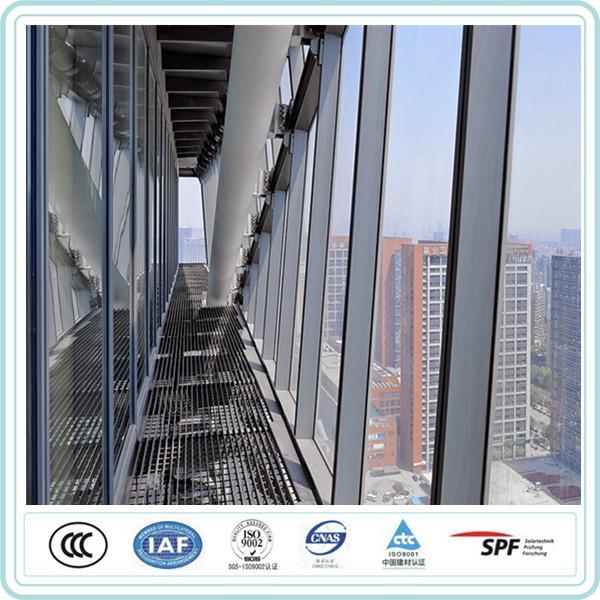 מעולה אינטליגנטי בדרכי הנשימה מחיר windows עבור קיר מסך זכוכית זיגוג עור IX-62