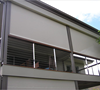 Manufacturer sell Sunscreen or Blackout Zip Roller blinds with side tracks